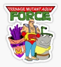 Teen Mutant Aqua Force Sticker