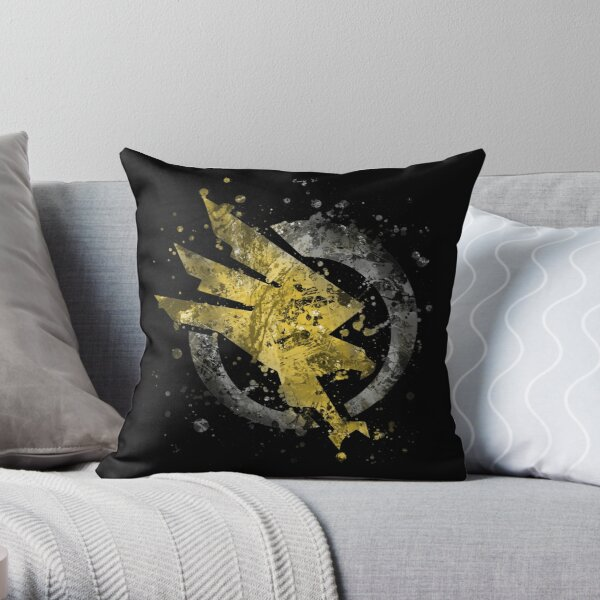 Command and Conquer - GDI Splatter Throw Pillow