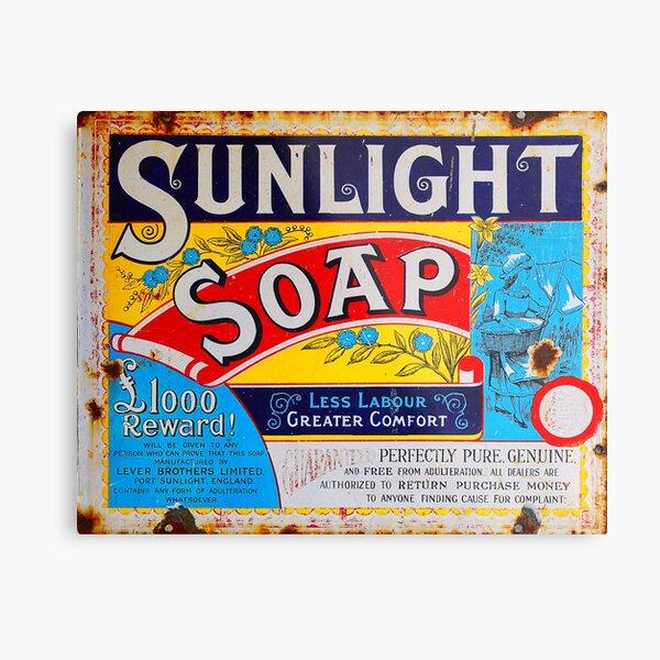 Sunlight Soap Metal Print