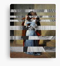 """Hayez's """"The Kiss"""" & Clark Gable and Vivien Leigh Canvas Print"""