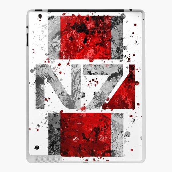 Mass Effect - N7 (Lite) Splatter iPad Skin