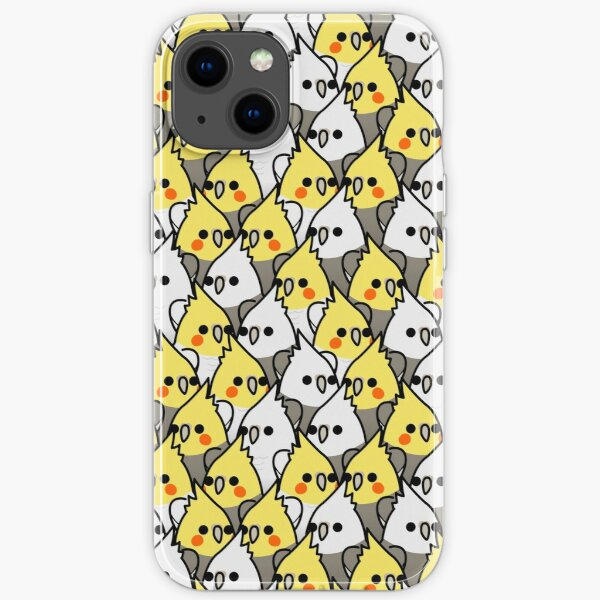 Too Many Birds! - Cockatiel Squad iPhone Soft Case