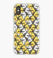 Zu viele Vögel! - Nymphensittiche iPhone-Hülle & Cover