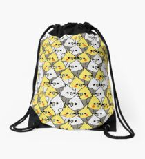 Too Many Birds! - Cockatiel Squad Drawstring Bag