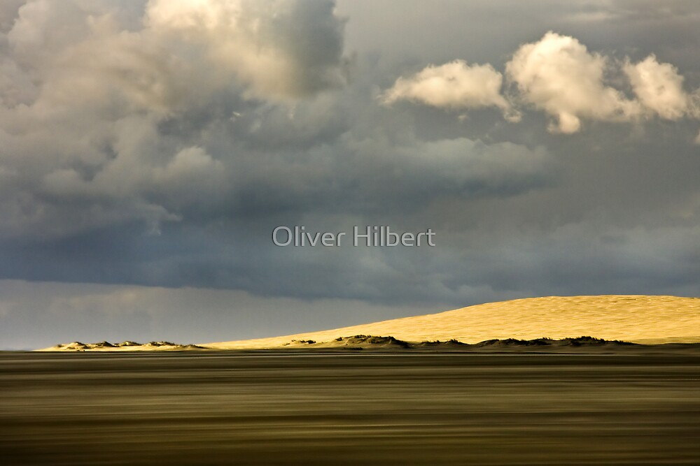 Muriwai Dunes by Oliver Hilbert