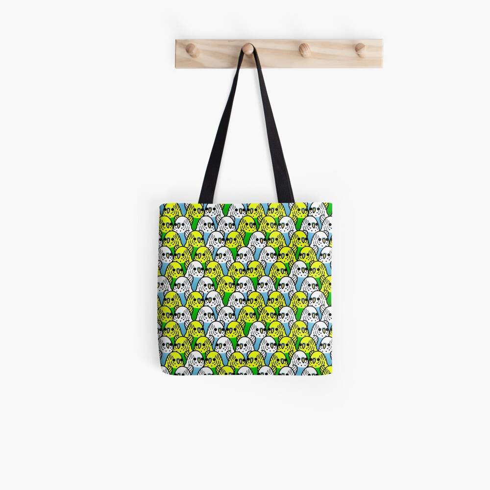 Too Many Birds! - Budgie Squad 1 Tote Bag