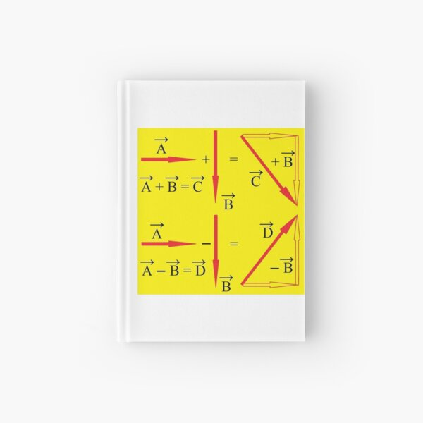 Vector Summation; and Vector Subtraction Hardcover Journal