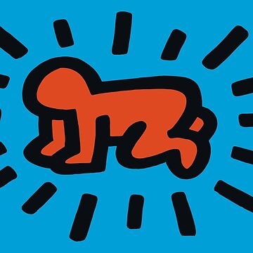Radiant Baby (Keith Haring) by RetroPops