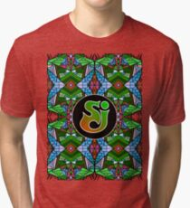 String Cheese Incident - Trippy Pattern 6 Tri-blend T-Shirt