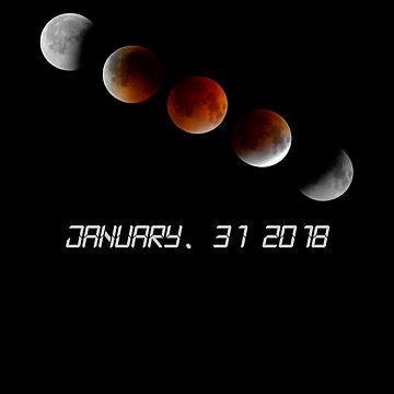2018 Lunar Eclipse January 31 by comunicator
