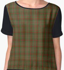 All Hallowed Eve Fashion Tartan  Women's Chiffon Top