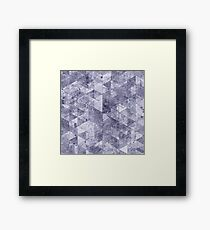 Abstract Geometric Background #26  Framed Print