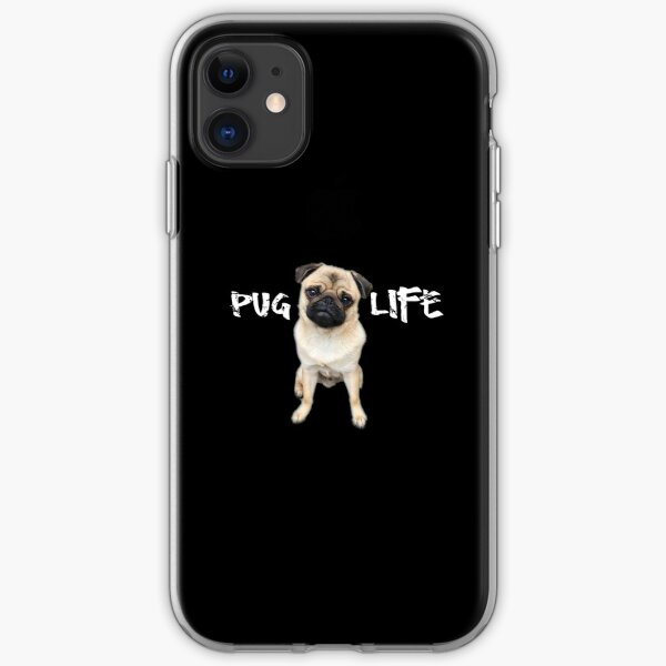 Pug Life iPhone Soft Case