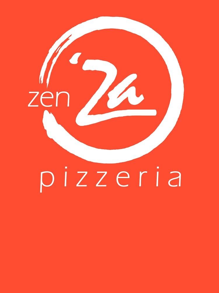 The 'Original' zenZa V-Neck by zenZaPizzeria