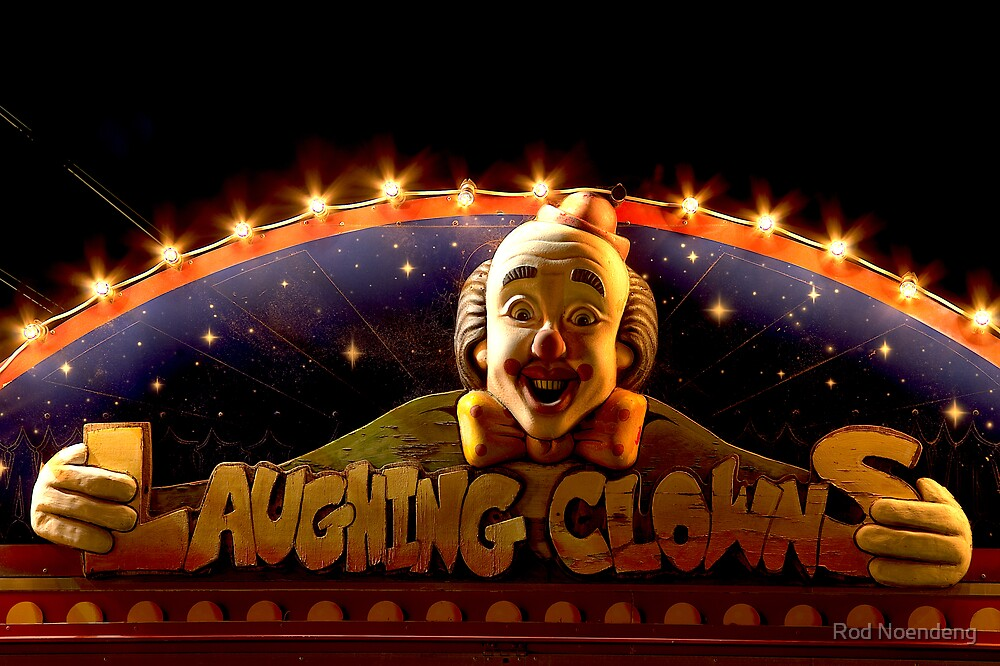 Laughing Clowns by Rod Noendeng