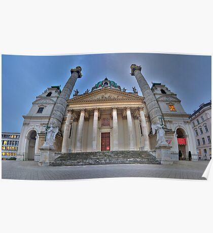 Karlskirche - Guardian Angels Poster