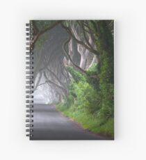 The Dark Hedges / Game of Thrones / Co Antrim / Northern Ireland Spiral Notebook