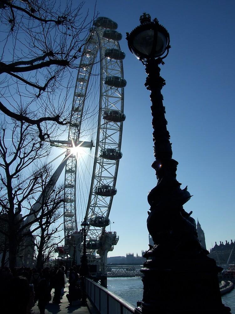 The London Eye/South Bank by sassygirl