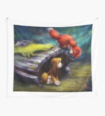 When You're the Best of Friends Wall Tapestry