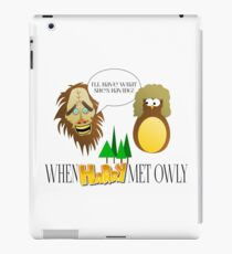 When Harry Met Owly Version 2 || Movie Parody iPad Case/Skin