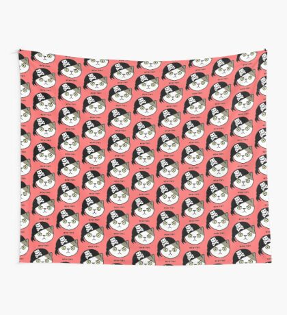 Mew-tiny Kitty Cat Pirate  Wall Tapestry
