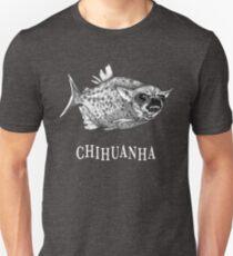 Chihuanha, Chihuahua + Piranha Hybrid Animal Unisex T-Shirt