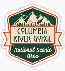 Columbia River Gorge Nationales Landschaftsgebiet Sticker