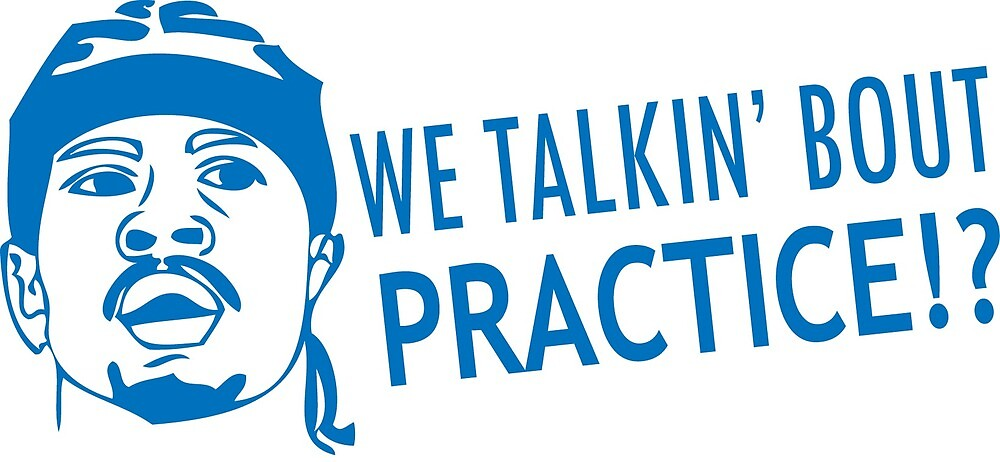 We talkin' bout practice by ballersnba