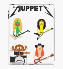 Master of Muppets - Muppets as Metallica Band iPad Case/Skin