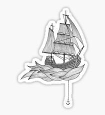 The ship Sticker