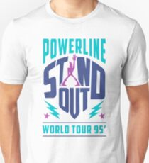 STAND OUT Powerline World Tour Unisex T-Shirt