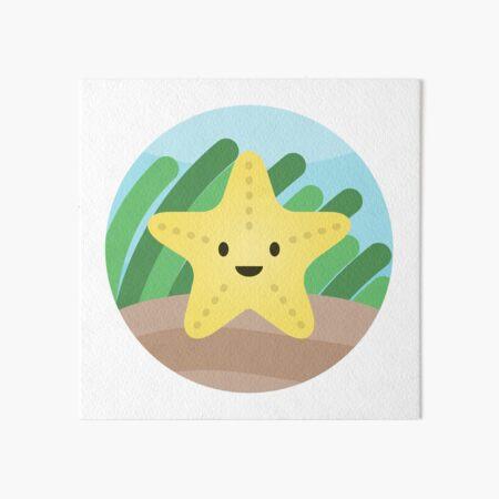 Starfish Art Board Print