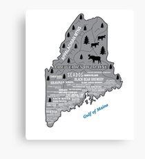 Lienzo Cervecerías de Maine