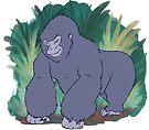Mountain Gorilla by Lacey  Ewald