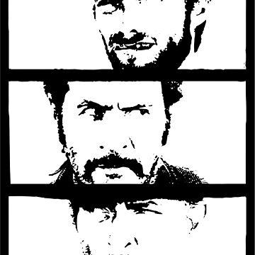 Sergio Leone by dalgius