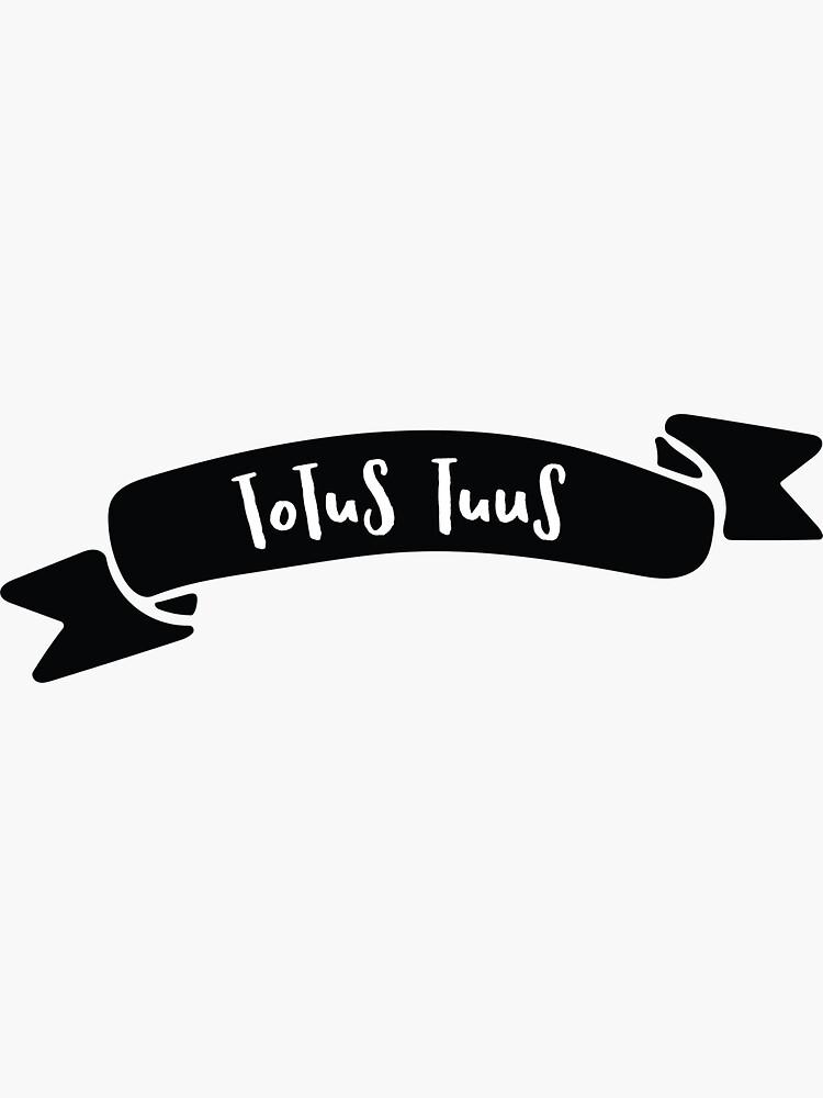Totus Tuus Banner by CatholicGators