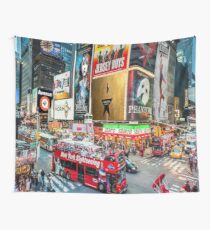 Times Square II Special Edition I Wall Tapestry