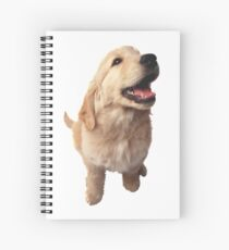 Puppy Retriever Spiral Notebook