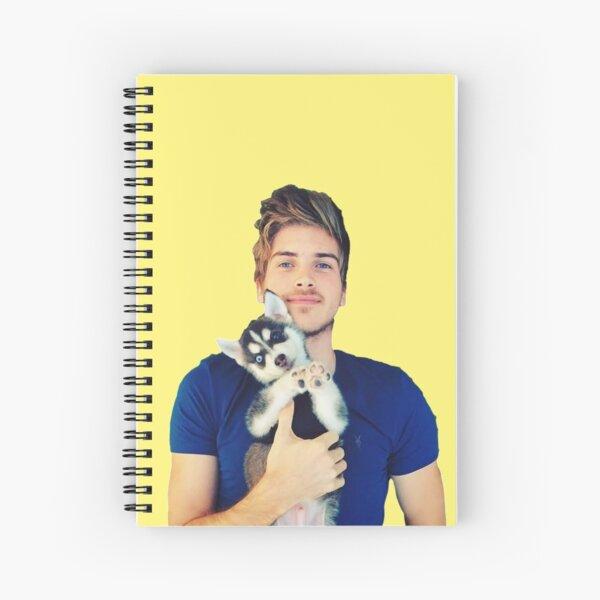 Joey Graceffa Spiral Notebook