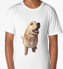 Puppy Retriever Long T-Shirt