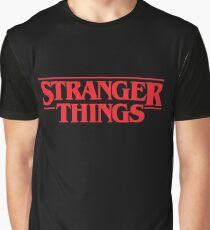Stranger Things Logo  Graphic T-Shirt