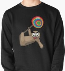 angry zombie sloth pop Pullover