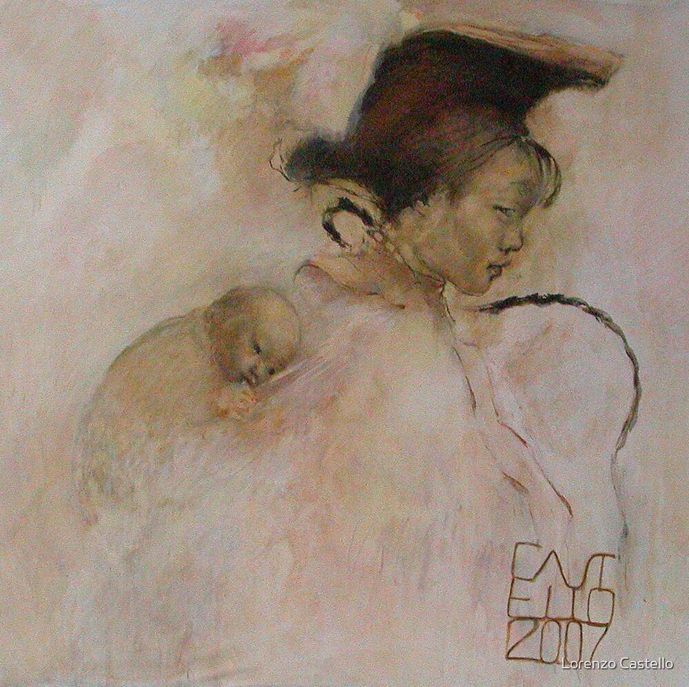 Miao mother by Lorenzo Castello