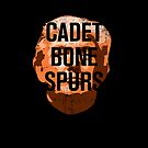 CADET BONE SPURS Anti-Trump Distressed Graphic by ClothedCircuit