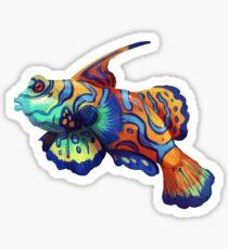 Mandarinfish Sticker