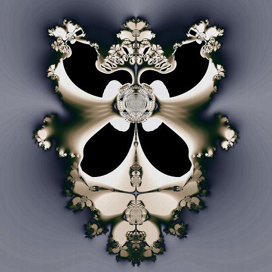 Fractal Skeleton by Sven Fauth