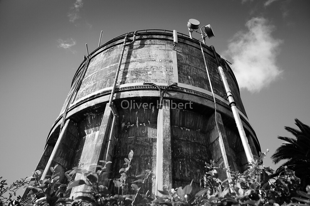 Water Tower by Oliver Hilbert