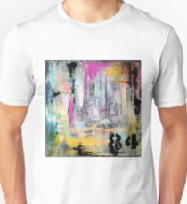 New York Times Square and Taxi Series #84 Unisex T-Shirt