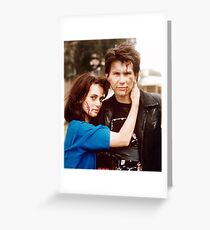 heathers, winona ryder and christian slater Greeting Card