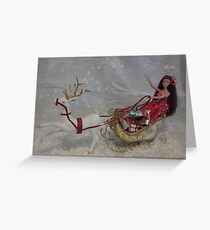 Sleigh Belle #1 Greeting Card